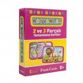 DİYTOY EĞİTİCİ ZEKA KARTLARI - 10 Kutu Seçenekli Flash Cards-4