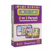 DİYTOY EĞİTİCİ ZEKA KARTLARI - 10 Kutu Seçenekli Flash Cards-5