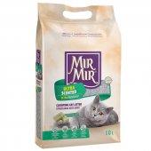 Mırmır Ultra Parfümlü Topaklanan Kedi Kumu 4 X 10 Lt-3