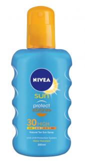 Nıvea Sun F30 Protection & Bronze Süt Sprey 200ml