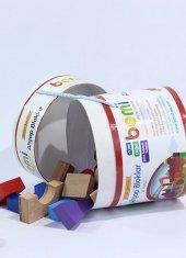 Bemi Ahşap Bloklar 39 Parça Eğitici Oyuncak