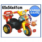 3 Tekerlekli Bisiklet Potalı Çocuk Motorsikleti