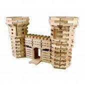 Becerikli Yapılar 200 Parça (Ahşap Yapı Blokları) orjinal oyun-2