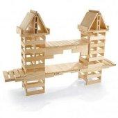 Becerikli Yapılar 200 Parça (Ahşap Yapı Blokları) orjinal oyun-6