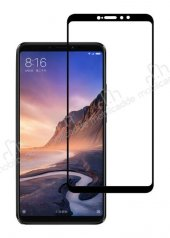 Dafoni Xiaomi Mi Max 3 Curve Full Siyah Cam Ekran Koruyucu-7