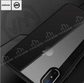 Joyroom Phantom iPhone X / XS Beyaz Silikon Kenarlı Rubber Kılıf-3