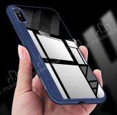 Joyroom Phantom iPhone X / XS Beyaz Silikon Kenarlı Rubber Kılıf-4