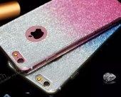 Samsung Galaxy J5 Prime Simli Silver Silikon Kılıf-3