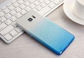 Samsung Galaxy J5 Prime Simli Silver Silikon Kılıf-5