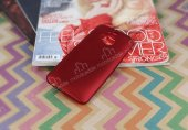 HTC One M9 Plus Mat Kırmızı Silikon Kılıf-2