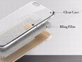 Nokia 3 Simli Gold Silikon Kılıf-5