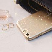 Ringke Noble Slim iPhone 6 Plus / 6S Plus Taşlı Gold Rubber Kılıf-3