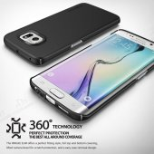 Ringke Samsung Galaxy S6 Edge Plus 360 Kenar Koruma Siyah Kılıf-2