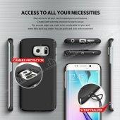 Ringke Samsung Galaxy S6 Edge Plus 360 Kenar Koruma Siyah Kılıf-5