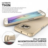 Ringke Samsung Galaxy S6 Edge Plus 360 Kenar Koruma Siyah Kılıf-6