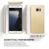 Ringke Slim Frost Galaxy Note FE 360 Koruma Gri Rubber Kılıf-2