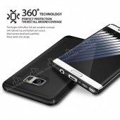 Ringke Slim Frost Galaxy Note FE 360 Koruma Gri Rubber Kılıf-4