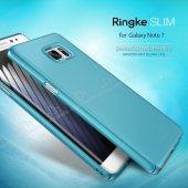 Ringke Slim Frost Galaxy Note FE 360 Koruma Gri Rubber Kılıf-7