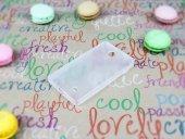 Nokia X / X Plus Beyaz Şeffaf Silikon Kılıf-3