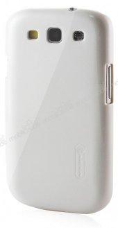 Nillkin Samsung Galaxy S3 / S3 Neo Beyaz Sert Parlak Rubber Kılıf