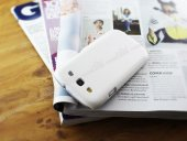 Nillkin Samsung Galaxy S3 / S3 Neo Beyaz Sert Parlak Rubber Kılıf-2