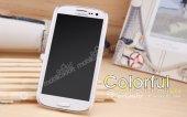 Nillkin Samsung Galaxy S3 / S3 Neo Beyaz Sert Parlak Rubber Kılıf-7