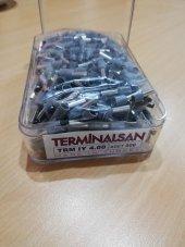 4 mm İzoleli Kablo Ucu Yüksük -  500 Adet