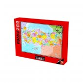 Anatolian Puzzle 260 Parça Türkiye Siyasi Haritası Puzzle