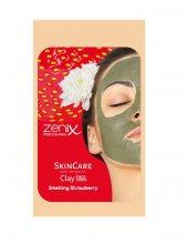 Zenix Kil Maskesi Tek Kullanımlık 15 Ml Çilek Maske Smelling Stra