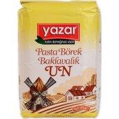 Yazar Un Buğday Unu (Pasta Börek Baklavalık) 2kg X 8 Paket 16kg Kolı
