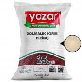 Yazar Dolmalık Baldo Pirinç Kırığı  25 kg