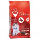 Van Cat Süper Beyaz Ve Topaklanan Kedi Kumu...