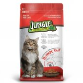 Jungle Kuzulu Yetişkin Kedi Maması 1,5 Kg