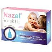 Nazal Burun Aspiratör 12'li Yedek Uç (Otri Bebe Uyumlu)