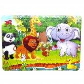 Fil,aslan,panda, Orman Hayvanları 42 Parça...