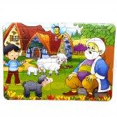 Kuzu Ve Annesi 42 Parça Kolay Çocuk Puzzle...
