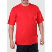 Sıfır Yaka Tişört Kırmızı İş Elbiseleri