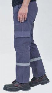 7 7 Gabardin İş Pantolonu Kışlık Reflektörlü Kargo...