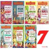 Afacanlar Okulda (Eğlenceli Bilgi) 7 Hikaye Kitap Set Macera