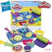 Hasbro Play Doh Mutfak Kurabiye Seti Oyun Hamuru 14lü B0307