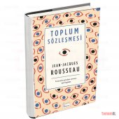 Toplum Sözleşmesi Rousseau Lüx Bez Ciltli Sert...