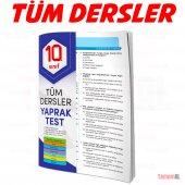 10.sınıf Tüm Dersler Yaprak Test (Soru Bankası)...