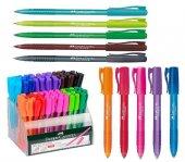 Faber Castell Renkli Tükenmez Kalem 5 Farklı Renk Set