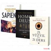 SAPIENS + HOMO DEUS + 21.YY 21 DERS / YUVAL NOAH HARARİ / 3 KİTAP