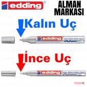 ALMAN MALI Araç Kaporta Rötuş GRİ Gümüş Boya Kalemi (Çok KALİTELİ-2