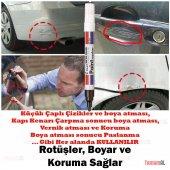 ALMAN MALI Araç Kaporta Rötuş GRİ Gümüş Boya Kalemi (Çok KALİTELİ-11