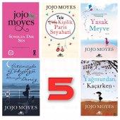 Jojo Moyes 5 Kitap Takım Aşk Roman Seti...