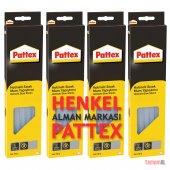 4 Takım Pattex Hotmelt Sıcak Silikon Henkel Mum Ya...