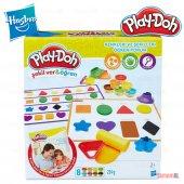 Play Doh Hasbro Şekilver Renkleri Ve Şekilleri Öğreniyorum B3404