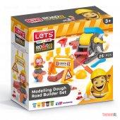 Lets Yol İnşaatı Seti Modelleme Oyuncaklı Oyun Hamuru L8491